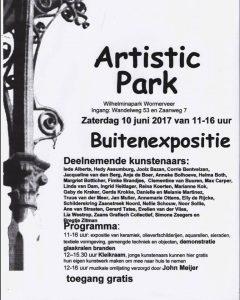 Buitenexpositie Artistic Park