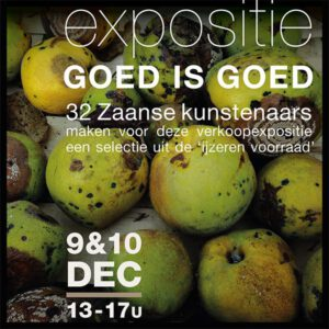 EXPOSITIE GOED IS GOED flyer