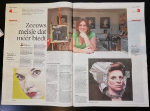 Artikel Noord Holland Dagblad Zaanstreek over 'Opgesloten'