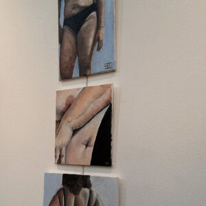 Relax, it's just  body project tijdens 100%FEMALE expositie in de Grote Kerk Alkmaar